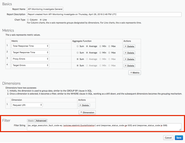 Create Custom Reports Apigee Docs