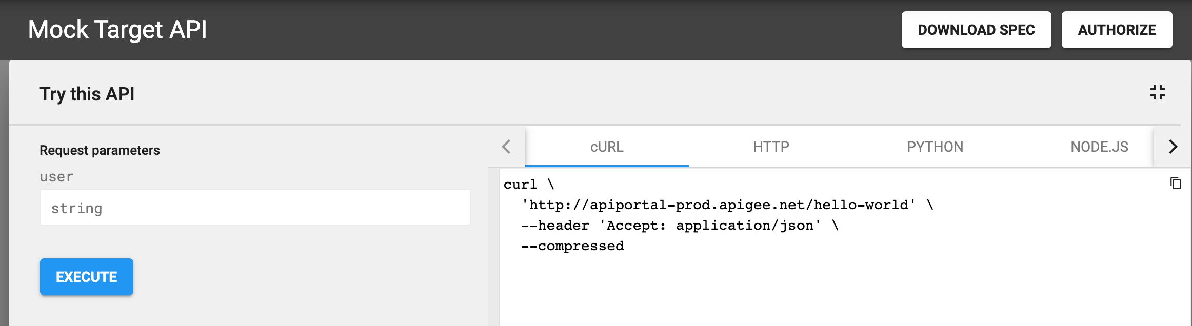 Publish your APIs | Apigee Docs
