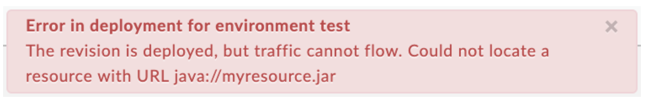 JavaCallout policy runtime error troubleshooting | Apigee Docs