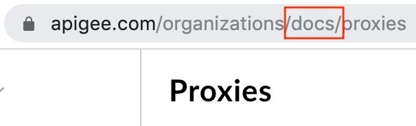 organization listed in URL