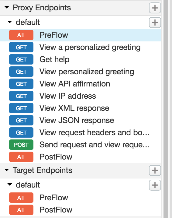 Select flow to which you want to attach policy