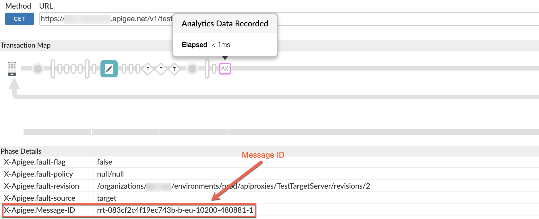 Message ID in Phase Details section