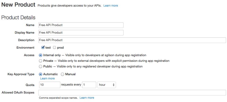 Part 2: Generate and test an API key   Apigee Docs